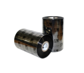 Thermal Ribbon, 2300, wax, 65mm x 450m, Black (12 per doos)