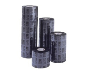 Thermal Ribbon, 2300, wax , 76mm x 450m, Black (12 per doos)