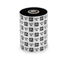 Thermal Ribbon, 3200, wax/resin, 83mm x 450m, Black (12 per doos)