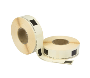Brother DK-11204 compatible labels, 17mm x 54mm, 400 etiketten, wit, permanent