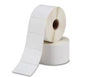 Bixolon 3007207BIX compatible labels, Top, 25mm x 76mm, 930 etiketten, 25mm kern, blanco, permanent