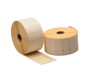 Bixolon 800262-075BIX compatible labels, Top, 57mm x 19mm, 3315 etiketten, 25mm kern, blanco, permanent