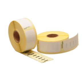 Duurzame Dymo 11352 compatible labels, 54mm x 25mm, 500 etiketten, blanco, permanent (Polypropyleen)