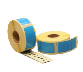 Dymo 11352 compatible labels, 54mm x 25mm, 500 etiketten, blauw, permanent