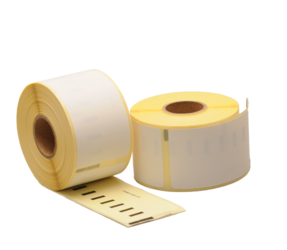 Dymo 11356 compatible labels, 89mm x 41mm, 300 etiketten, blanco, permanent