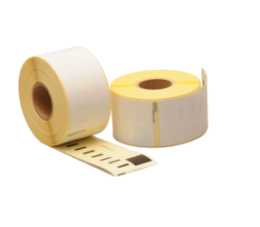 Dymo 99012 compatible labels, 89mm x 36mm, 260 etiketten, blanco, verwijderbaar