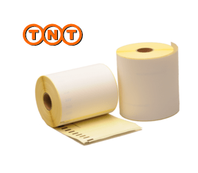 Dymo S0904980 compatible labels TNT, 104mm x 159mm, 220 etiketten, blanco, permanent