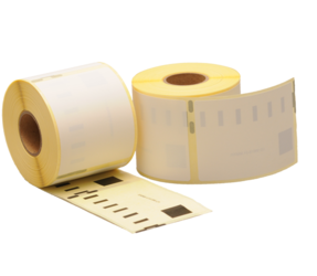 Dymo 99015 / S0722440 compatible labels, 70mm x 54mm, 320 etiketten, blanco, permanent