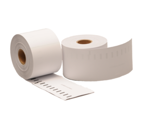 Dymo 99018 / S0722470 compatible labels, 190mm x 38mm, 110 etiketten, blanco, permanent