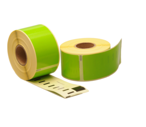 Seiko SLP-2RLE compatible labels, 89mm x 36mm, 260 etiketten, groen, permanent