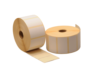 Zebra (880199-025) compatible labels, 51mm x 25mm, 2.580 etiketten, 25mm kern, wit, permanent