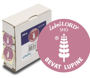 LabelLord Allergeen Lupine