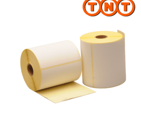 Thermische verzendetiketten TNT, 102mm x 150mm, 300 etiketten, Eco Permanent, 25mm kern