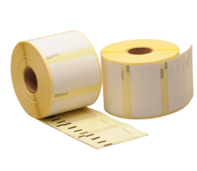Duurzame Dymo 11354 compatible labels, 57mm x 32mm, 1.000 etiketten, blanco, permanent (Polypropyleen)